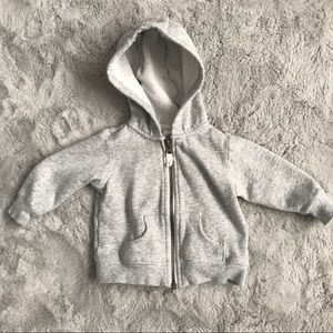 Carter's 6 month zippered hoodie